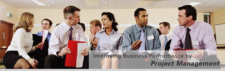 Improving Business Performance by Project Management